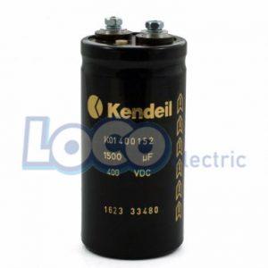 خازن 4700 میکرو فاراد 400 ولت DC