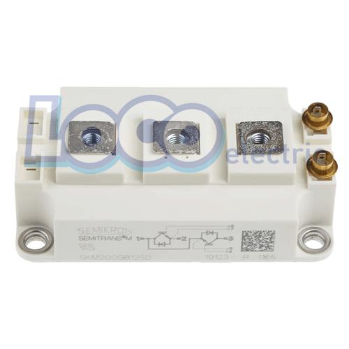 IGBT دوبل 200 آمپر 1200 ولت سمیکرون SKM200GB125D