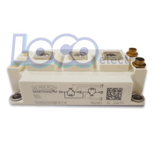 IGBT دوبل 200 آمپر 1200 ولت سمیکرون SKM200GB12T4