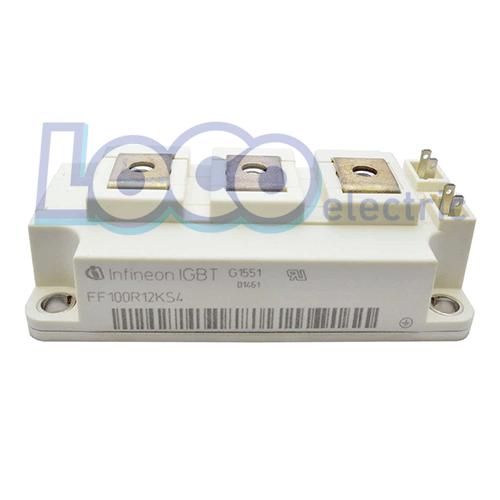 IGBT دوبل 100 آمپر 1200 ولت اینفنیون FF100R12KS4