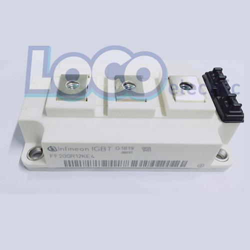 IGBT دوبل 200 آمپر 1200 ولت اینفنیون FF200R12KE4