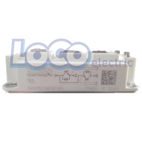 IGBT دوبل 150 آمپر 1200 ولت سمیکرون SKM150GB12T4G