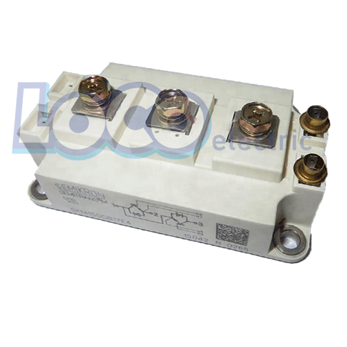 IGBT دوبل 150 آمپر 1700 ولت سمیکرون SKM150GB17E4