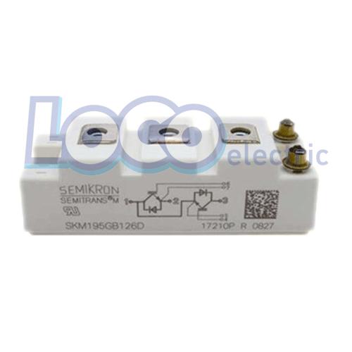 IGBT دوبل 150 آمپر 1200 ولت سمیکرون SKM195GB126D