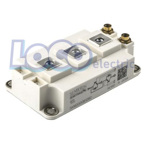 IGBT دوبل 150 آمپر 1200 ولت سمیکرون SKM200GB126D