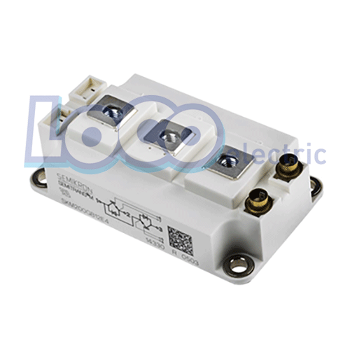 IGBT دوبل 200 آمپر 1200 ولت سمیکرون SKM200GB12E4