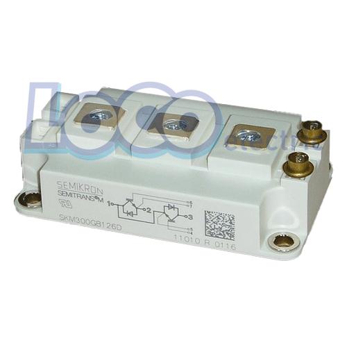 IGBT دوبل 200 آمپر 1200 ولت سمیکرون SKM300GB126D
