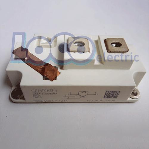 IGBT تک 400 آمپر 1200 ولت سمیکرون SKM400GA12T4