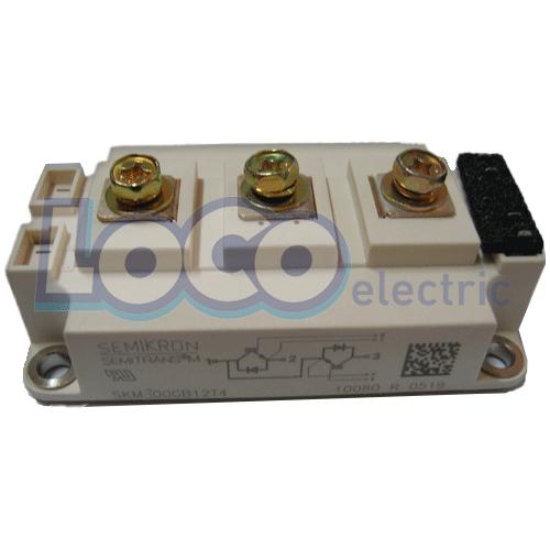 IGBT دوبل 300 آمپر 1200 ولت سمیکرون SKM300GBD12T4
